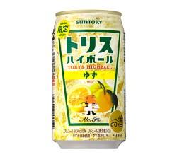 サントリーから徳島産ゆずを使用した「トリスハイボール缶〈ゆず〉」冬季限定発売
