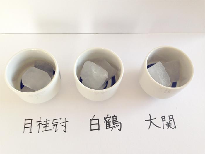 糖質ゼロ〜実験10氷