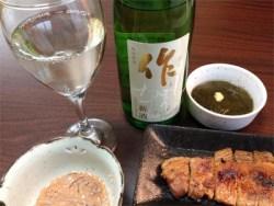 日本酒ファン垂涎の新酒!酒屋に一番乗り「作」のしぼりたて♪
