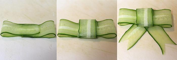 きゅうりリボンの作り方
