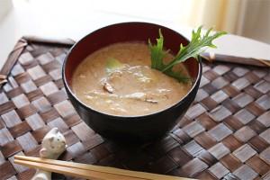 冷製味噌スープ