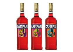 サントリースピリッツ「カンパリ アートデザインボトル」で未来派アートも楽しむ