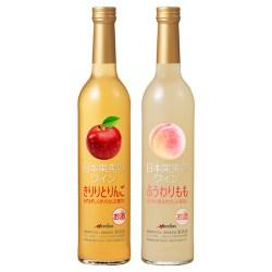 メルシャン「日本果実のワイン きりりとりんご」、「同 ふうわりもも」でワインと果物が幸せコラボ