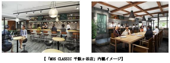 MOS CLASSIC千駄ヶ谷店内イメージ