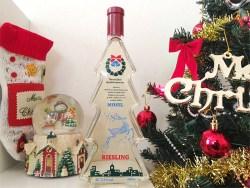 カルディで購入!クリスマスツリー型ボトルのワインが可愛くて美味しい