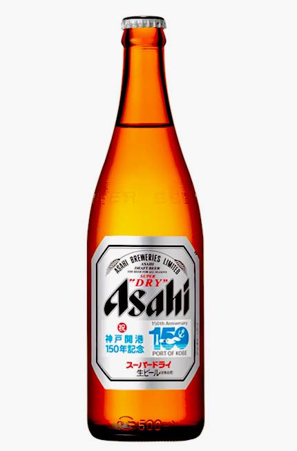 アサヒスーパードライ「神戸開港150年記念」ラベル
