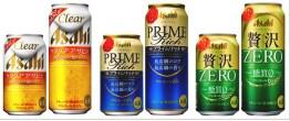 アサヒビール『クリアアサヒブランド』3商品のクオリティアップ実施