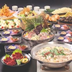 「九州酒場」 西日本エリア全5店舗で『九州一周盛りだくさんコース 飲み放題付き』を3月7日から4,000円で提供開始