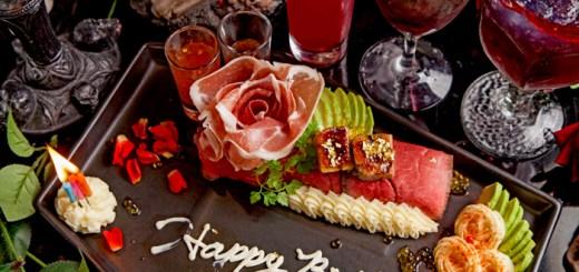 ヴァンパイアカフェの肉ケーキ