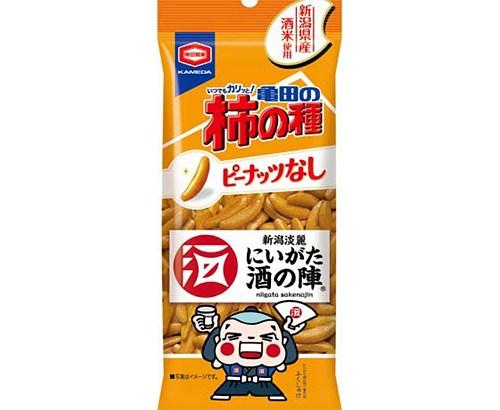 日本酒と「柿の種」がコラボ!『にいがた酒の陣亀田の柿の種』限定販売