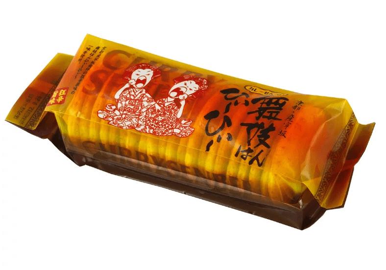 京都のカレーせんべい
