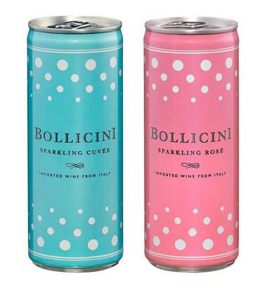 スパークリングワイン「ボッリチーニ」缶入りで登場!