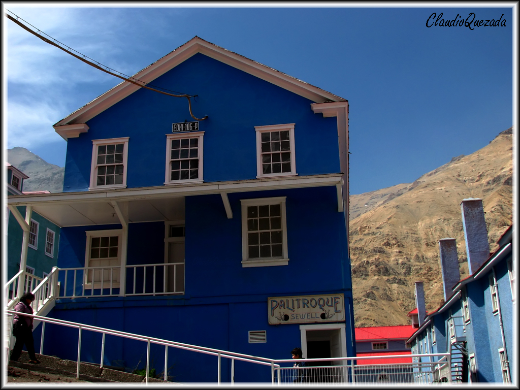 Sewell: un pueblo minero en los Andes chilenos