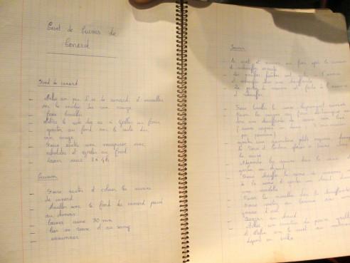 Caderno De Receitas de Claude Troisgros