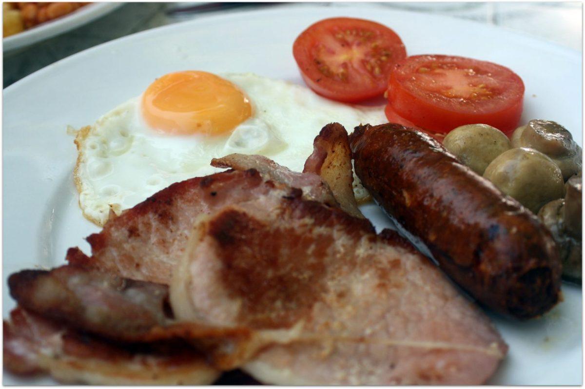 Notas sobre el desayuno inglés