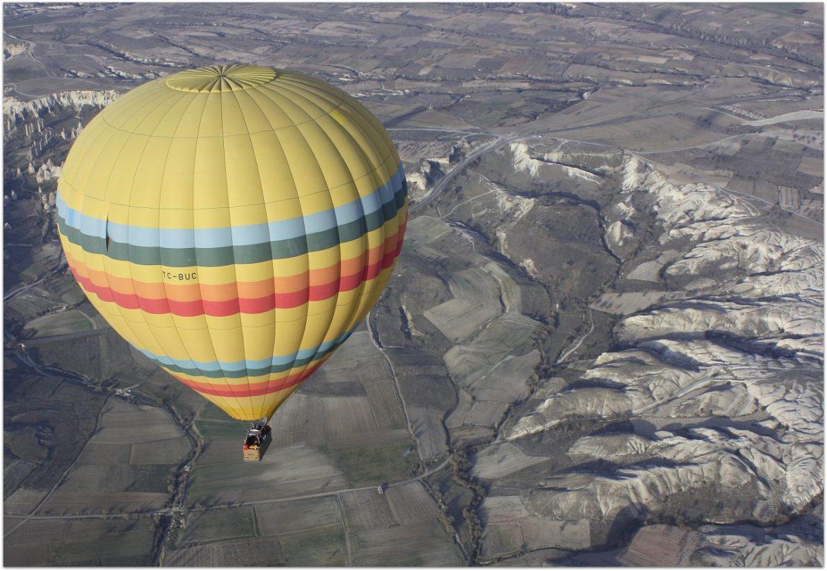 Notas desde un globo sobre la Capadocia