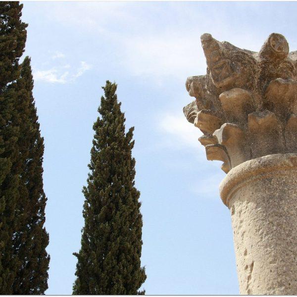 Volubilis, ruinas romanas en Marruecos