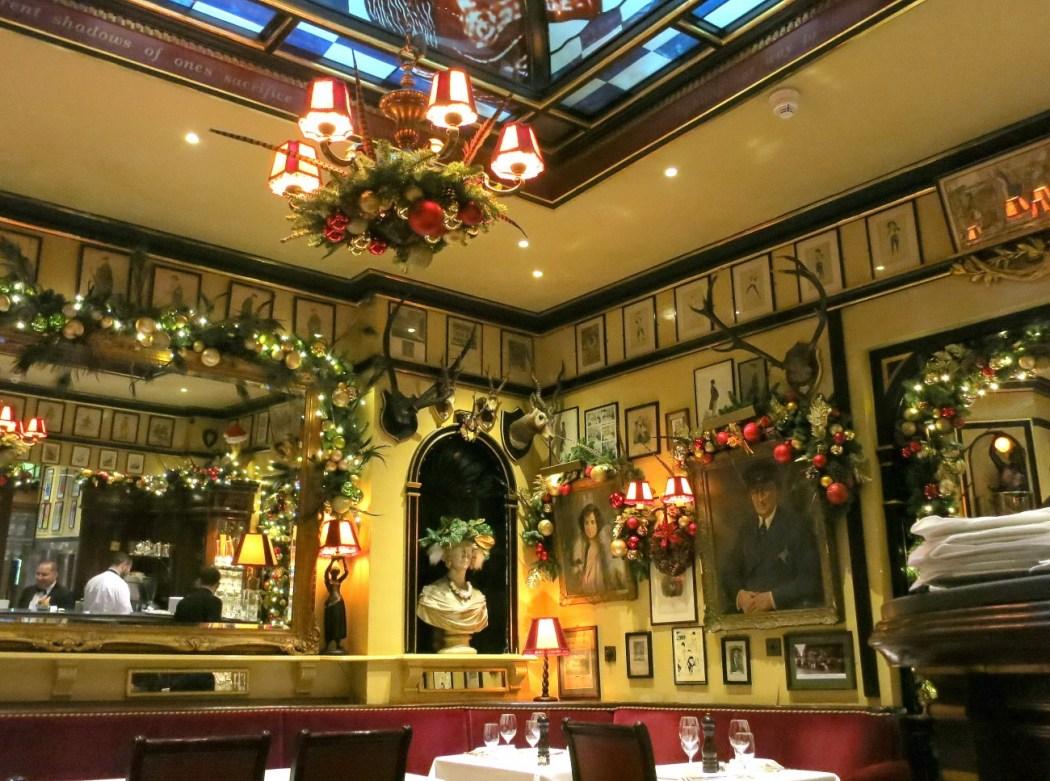 Restaurante Rules, Londres6