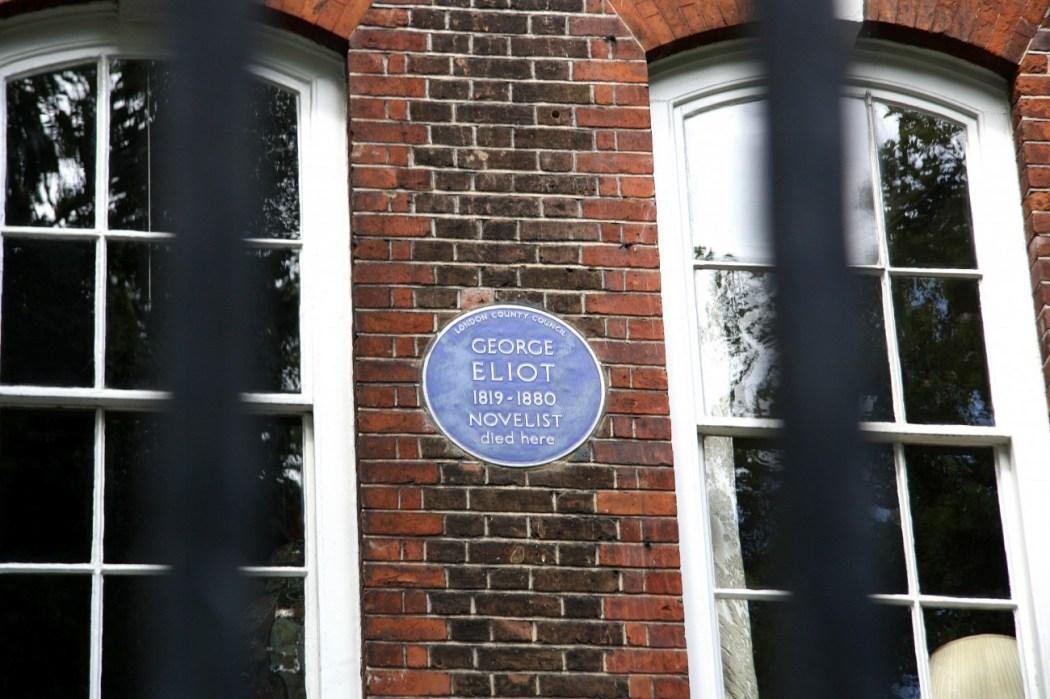 La casa de George Eliot en Cheyne Walk