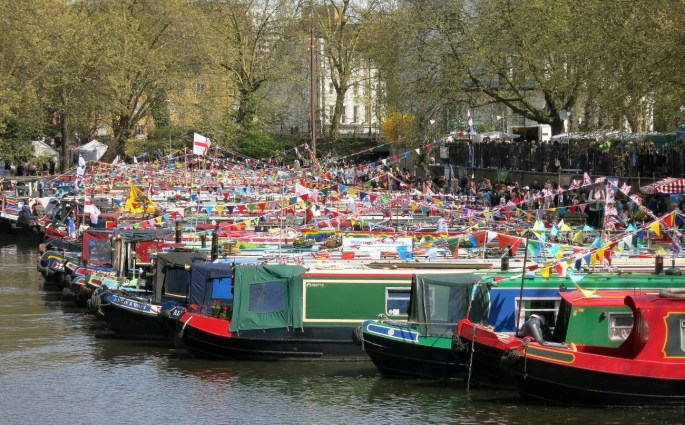 Canalway cavalcade Little Venice