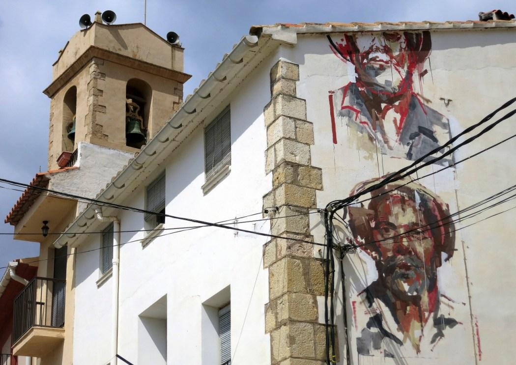 Arte urbano en Fanzara (Castellón)