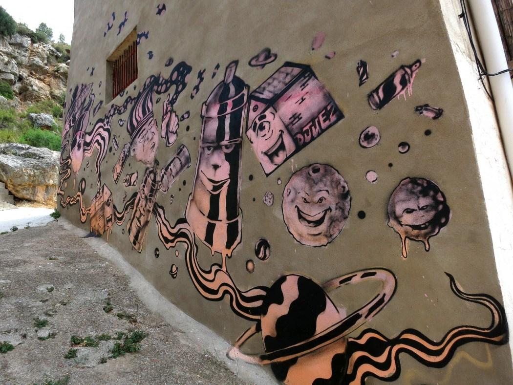 El Museo Inacabado de Arte Urbano en Fanzara, Castellón