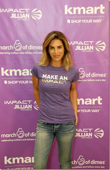 Kmart Teams with Jillian Michaels for the March of Dimes