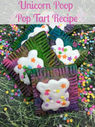 Unicorn Poop Pop Tart Recipe