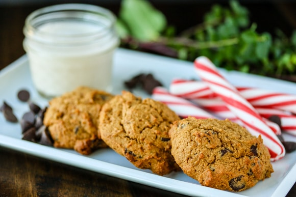 Grain-Free Chocolate Chip Peppermint Cookies