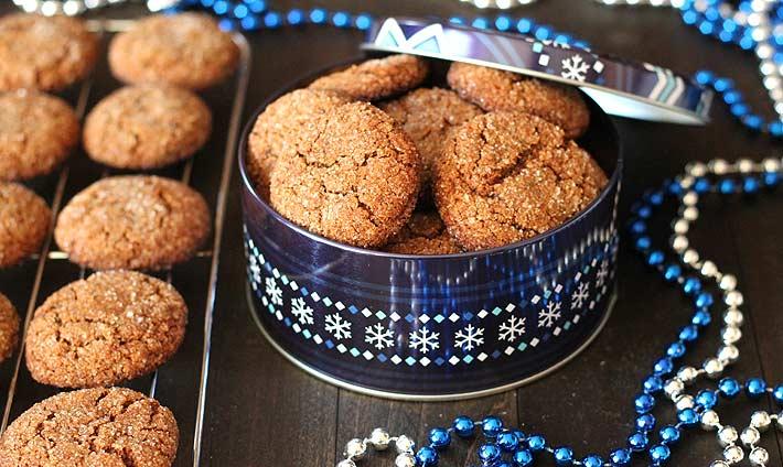 Soft Vegan Gluten Free Gingerbread Cookies