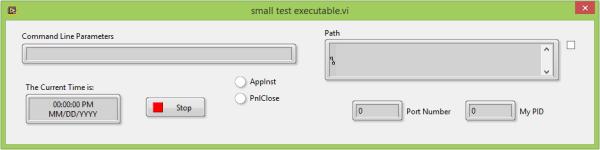A Small Test Executable - FP