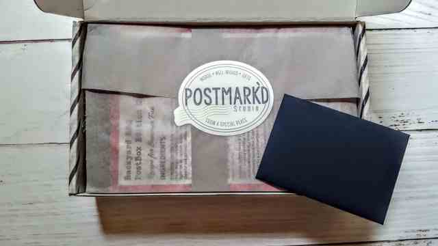 first look postmark'd studio