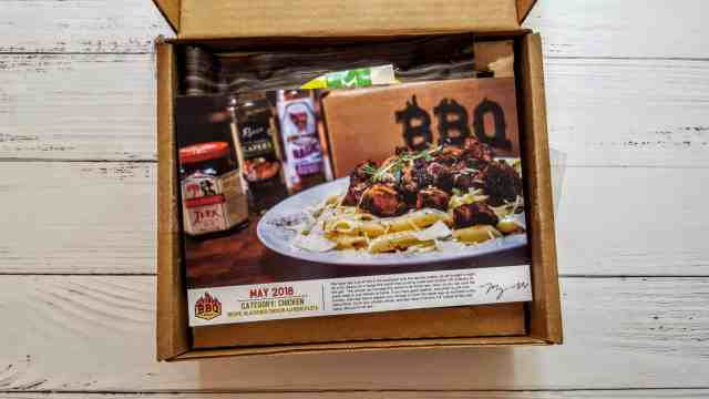 first look in bbq box