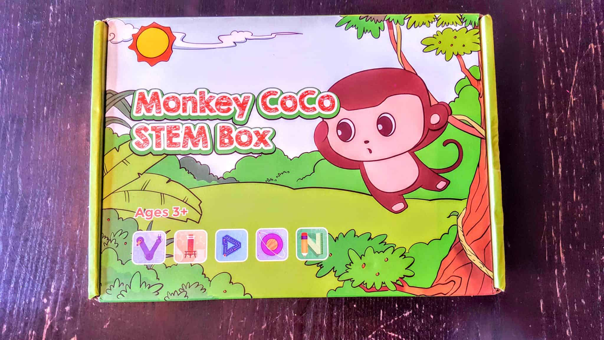 Monkey Coco STEM Subscription Box Review + Unboxing | January 2019