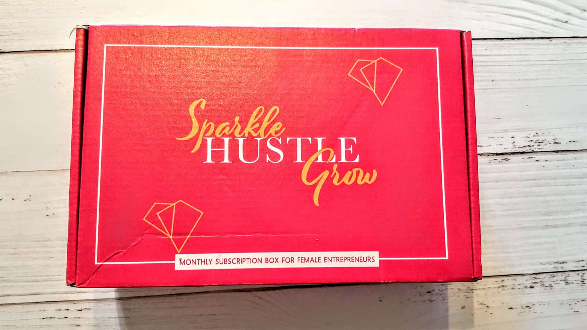 Sparkle Hustle Grow Subscription Box Review + Unboxing | November 2018