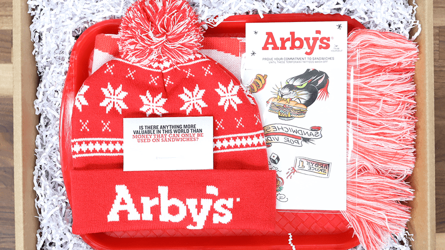 Arby's Subscription Box? Yep. It's a THING