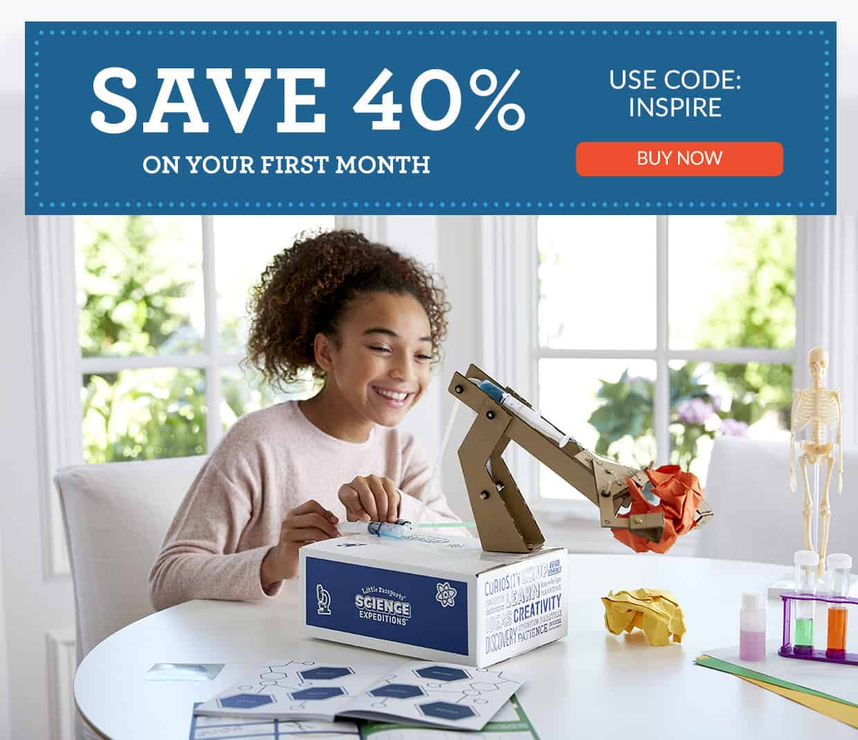 Little Passports 40% OFF First Box Subscription Box Coupon