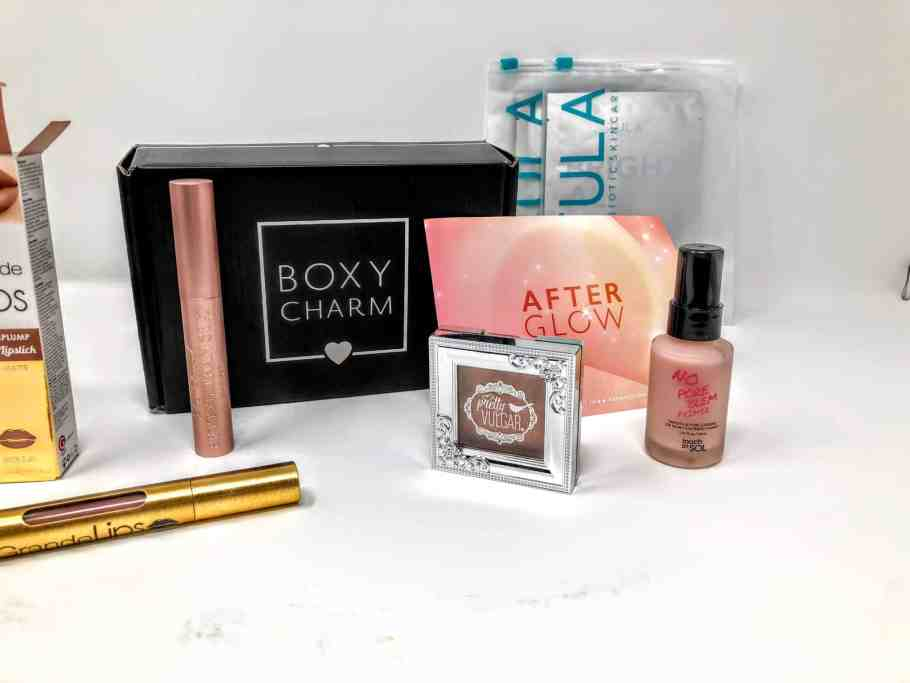 what's in the february boxychar