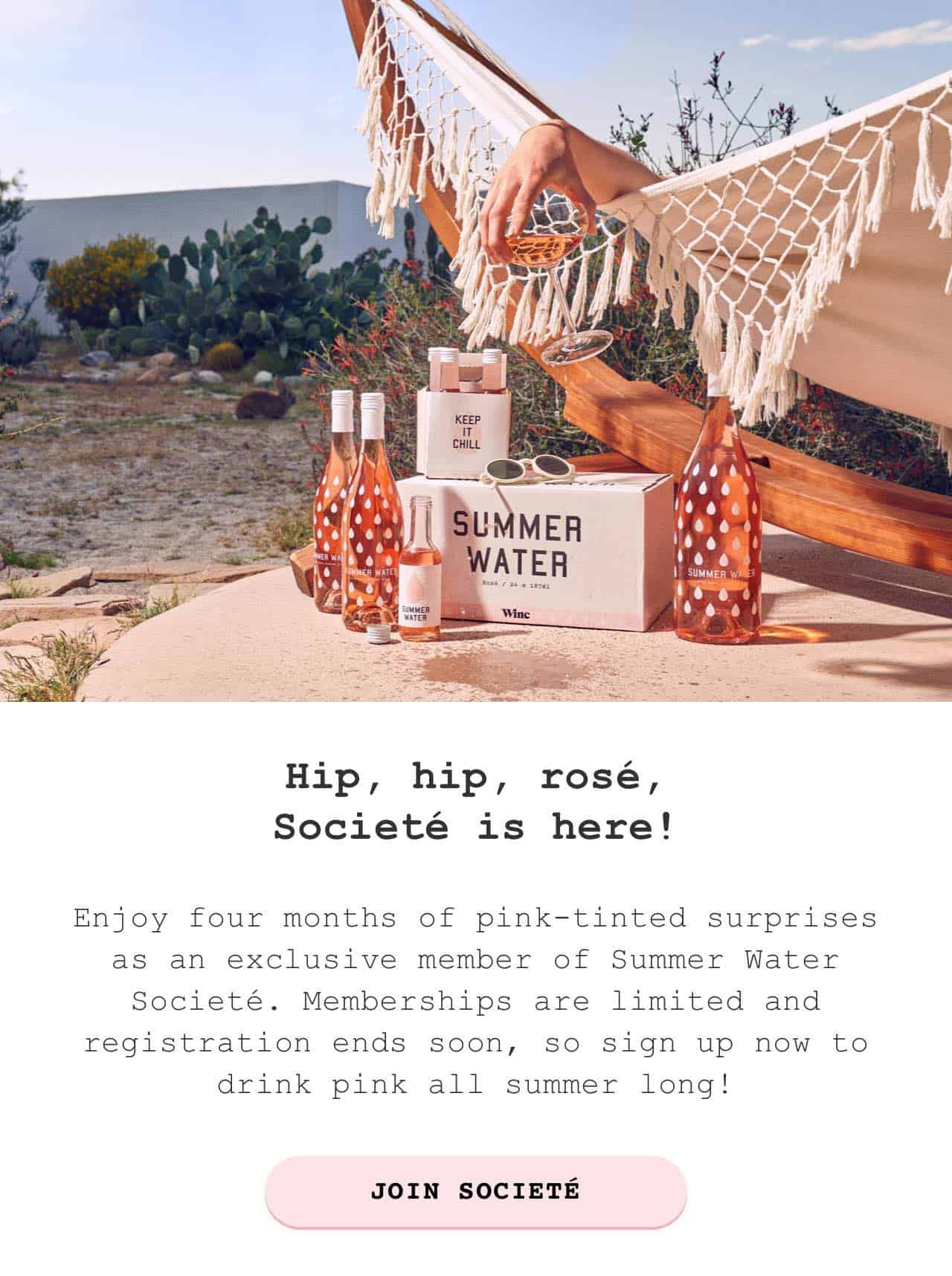 New Box from Winc – Summer Water Societe Subscription Available Now