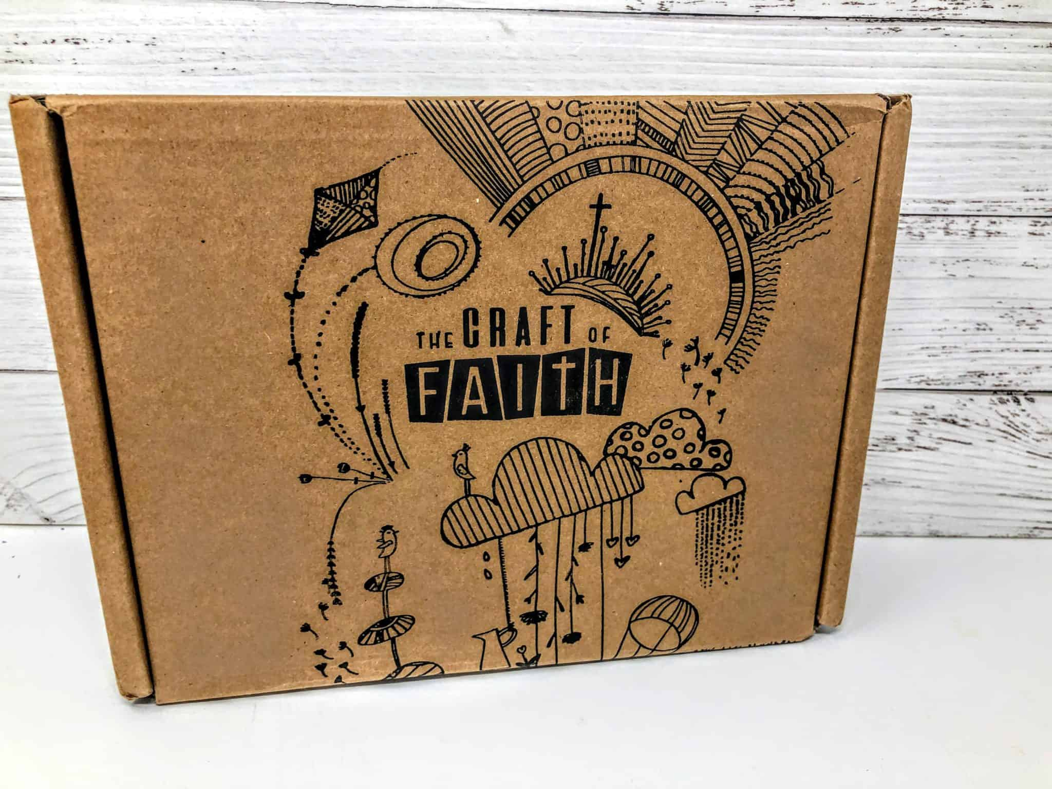 Craft of Faith Subscription Box Review + Unboxing | May 2019