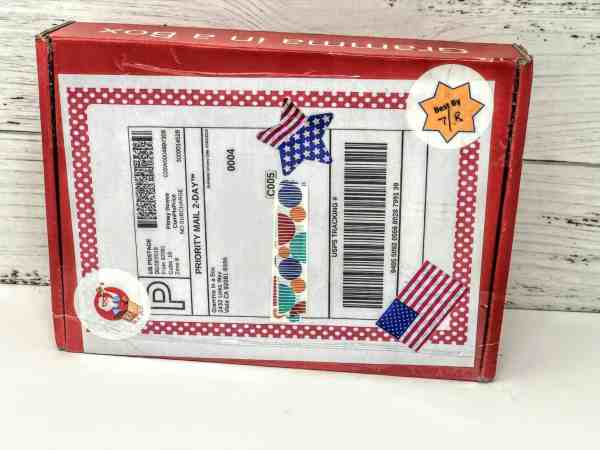 gramma in a box july review