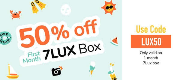 Facetory 50% OFF Lux Subscription Box Coupon