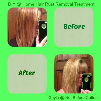 hair rust removal diy