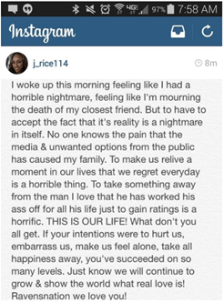 janay rice instagram statement