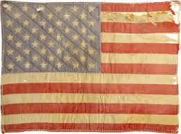 old american flag - faded glory