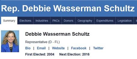 Hillary Clintons BFF Debbie Wasserman Schultz is a MAJOR CROOK