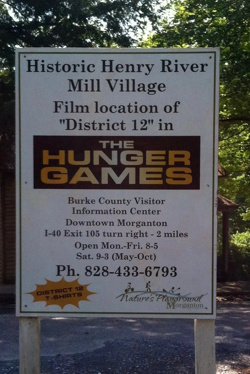 Hunger games fans visit district 12 not before 7 at this point please be aware that you have entered private property the 72 acres which contain district 12 are owned by one gentleman mr wade buycottarizona
