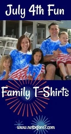 Make your Own Fourth of July Shirt.