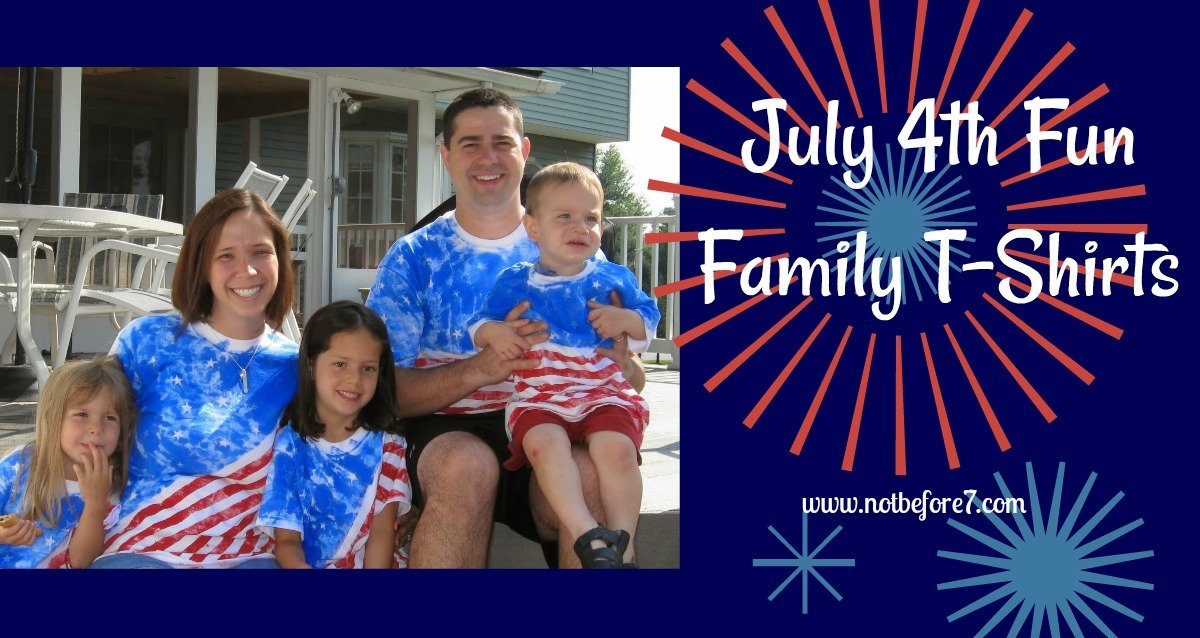 Create your own 4th of July shirt
