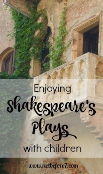 Ideas, tips and resources to help you teach and enjoy Shakespeare with kids.
